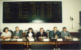 Prywatyzacja i wejście KGHM na giełdy papierów wartościowych w Warszawie i Londynie