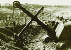 Rudna I faza budowy