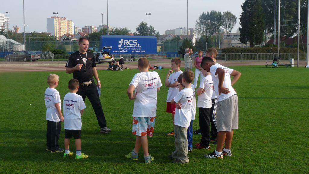 Zajęcia rugby dla dzieci