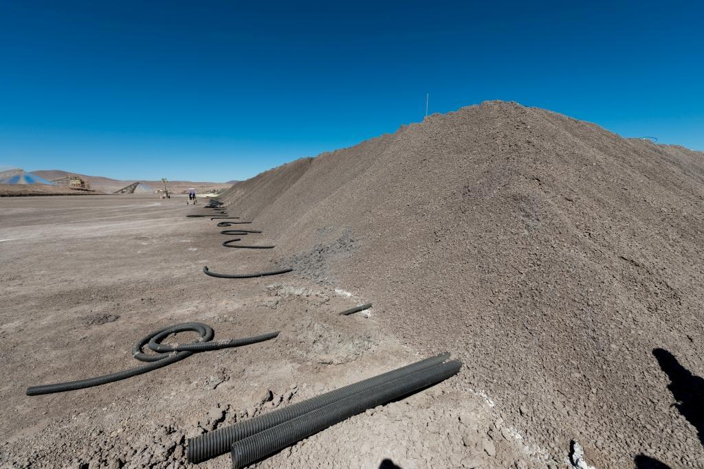 Kopalnia odkrywkowa Franke w Chile